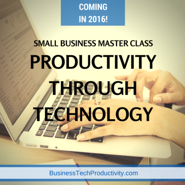 Small Business Master Class